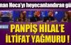 Hilal Cebeci, Adnan Hoca'yı heyecanlandırdı