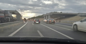 İstanbul'da 'yama şerit'...