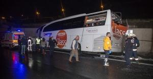 İstanbul Otogarı girişinde kaza: 1 ölü...