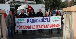 Karadeniz STK'ları Polisi Yalnız Bırakmadı