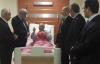Kaymakam Balaban hastalara acil şifalar diledi