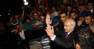 Kılıçdaroğlu'na Esenboğa Havalimanı'nda karşılama