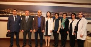 Sağlık Çalışanlarından Başkan Altınok Öz'e Ziyaret