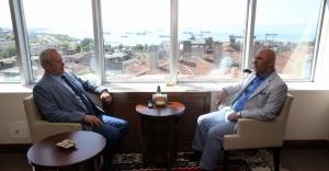 Şişli Belediye Başkanı Hayri İnönü'den Başkan Altınok Öz'e ziyaret