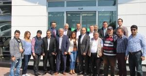 TAMAŞ Otomotiv Yönetimi Basınla Buluştu