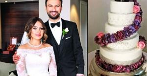 Tarkan'ın düğün pastası olay oldu