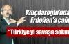 Türkiye'yi savaşa sokma