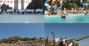Yaz Kampında Zaferin 100. Yılını Kutladılar