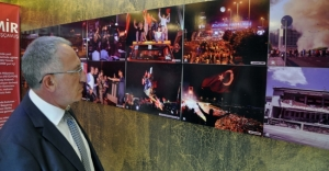 """Zonguldak'ta """"15 Temmuz Fotoğraf Sergisi"""" açıldı"""
