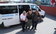 Engelli ve yaşlı seçmene özel araç ve ambulans
