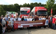 -Eyüpsultan'dan Haraçina Belediyesine büyük destek