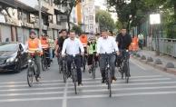 Bisiklet onlar için spor