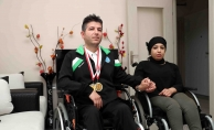 Kendi gibi engelli eşini Avrupa Şampiyonası'na hazırladı