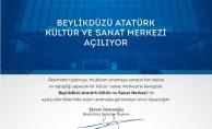 Beylikdüzü Atatürk Kültür ve Sanat Merkezi açılıyor