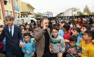 Çocuklardan Başkan Alatepe'ye halk gününde hak ziyareti