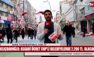 Kılıçdaroğlu: CHP'li Belediyelerde asgari ücret 2.200 TL olacak