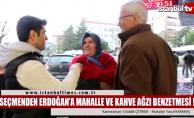 Seçmenden Erdoğan'a üslup eleştirisi