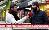Selahattin Demirtaş'ın cezası için halk ne diyor?
