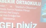 Yazar Aziz Erdoğan, gençlere Mehmet Akif Ersoy'u anlattı