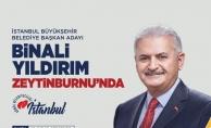 Binali Yıldırım Zeytinburnu#039;nda
