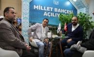 Mahmut Tuncer ve Cemil Demir Esenyurt standını ziyaret etti