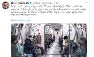 İBB,Toplu Ulaşımda 100 Bin Maske Dağıttı