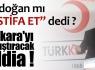 Ankara'yı karıştıracak iddia !
