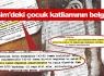Dersim'deki çocuk katliamının belgeleri