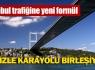 İstanbul'da denizle karayolu birleşiyor !