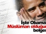 İşte Obama'nın Müslüman olduğunun belgesi