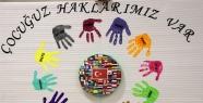 Kreş öğrencilerinden Dünya Çocuk Hakları...