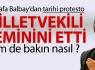 Mustafa Balbay'dan tarihi eylem!