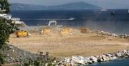 Samatya'da deniz dolgusu kalıcı hasar...