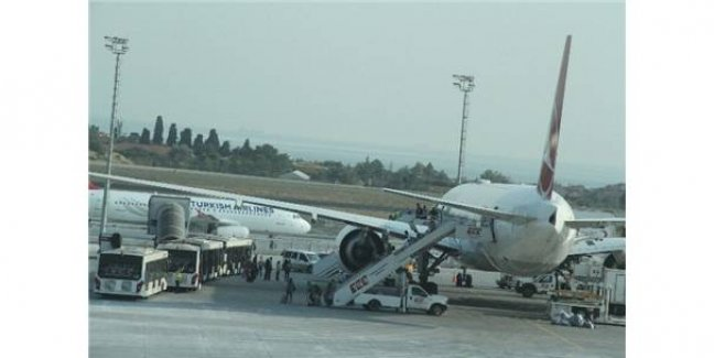 THY Uçağında Hırsızlık İddiası