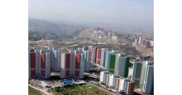 TOKİ Ankara'da 314 konut inşa edecek