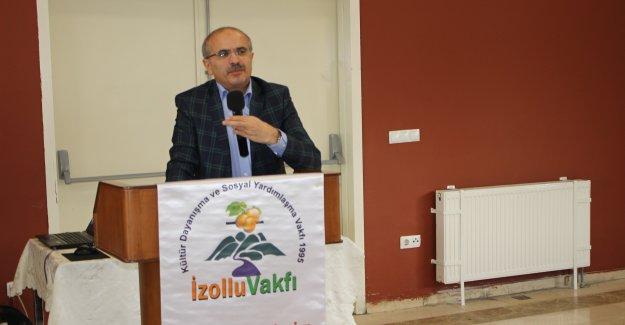 TOKİ Başkan Yardımcısı ER Bursiyerlere Konuştu
