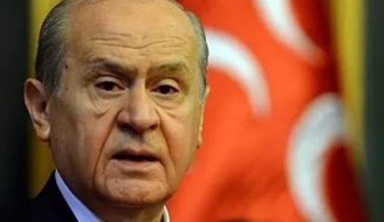 Tuğrul Türkeş'ten Devlet Bahçeli'ye gönderme