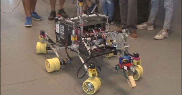 Türk üniversitesinden uzay robotu