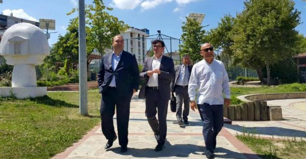 Türkiye Futbol Federasyonu'ndan Başkan Altınok Öz'e Ziyaret