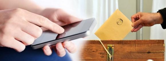 Türkiye'de cep telefonuyla oy kullanmak mümkün mü?