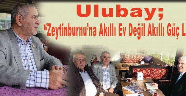 """Ulubay; """"Zeytinburnu'na Akıllı Ev değil Akıllı Güç Lazım"""""""