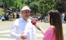 CHP'li Karabat :Maçka Parkında Basın Açıklaması Yaptı