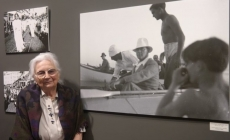 Atatürk'ün kürek çekerken görüldüğü fotoğraflar Macaristan'dan İstanbul'a geldi