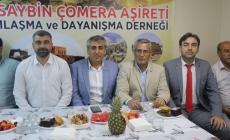 Mardin Nusaybin Dernek Başkanı Enver Akdeniz  ve Aşireti 'nden Binali Yıldırım'a Destek