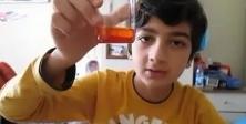 Evde biber gazı üretti, kendi üzerinde denedi!