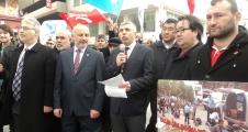 ADD.Zeytinburnu ÇİN zulmünü Protesto etti