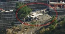 Lüx Asma Bahçeler Konutlarından çökme açıklaması yok!