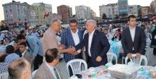 Ak Parti Meydan'da vefa iftarı yaptı
