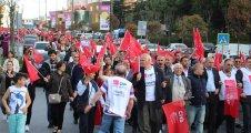 CHP,Göleti sattırmayacağız protesto eylemi yaptı