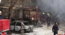 İkitelli Organize Sanayi bölgesinde yangın çıktı